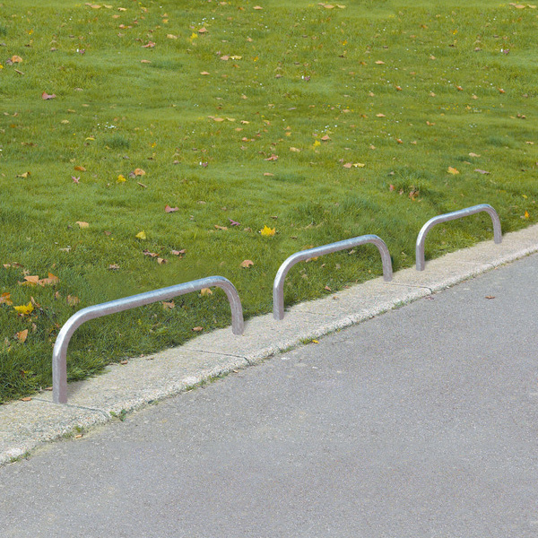 Hooped Barrier Low Level - Knee Rail For Perimeters or Parking Barrier, Hugely popular image