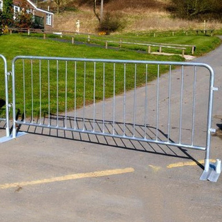 Crowd Control Barriers HEAVY DUTY Loose Foot (Pack of 2)