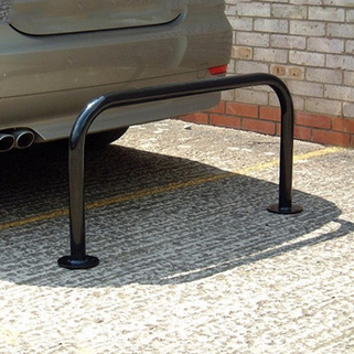 Hooped Perimeter Barrier (48mm Dia) Concrete In OR Bolt Down OR Removable