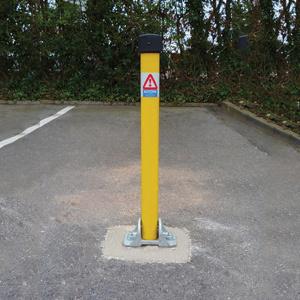Locking Car Park Bollards