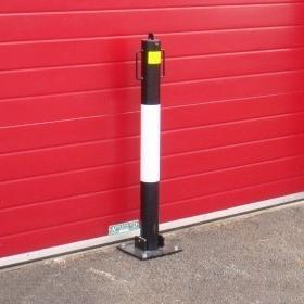Tall Heavy Weight Folding Bollard 183 Barriers Direct