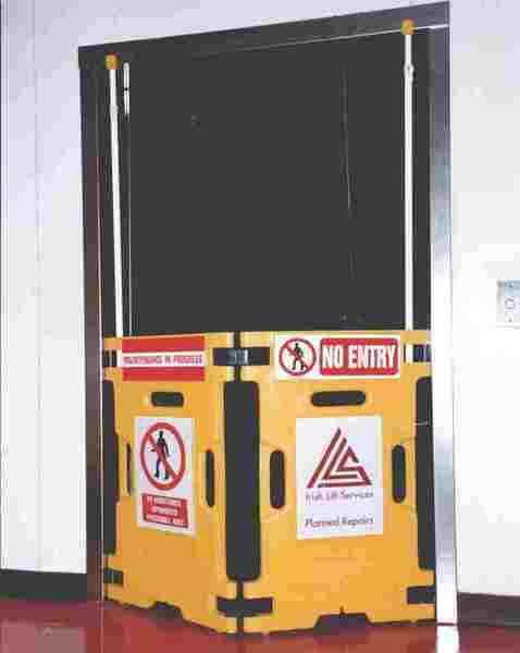Safety barrier for Elevator/Lift Guard - Used by Otis