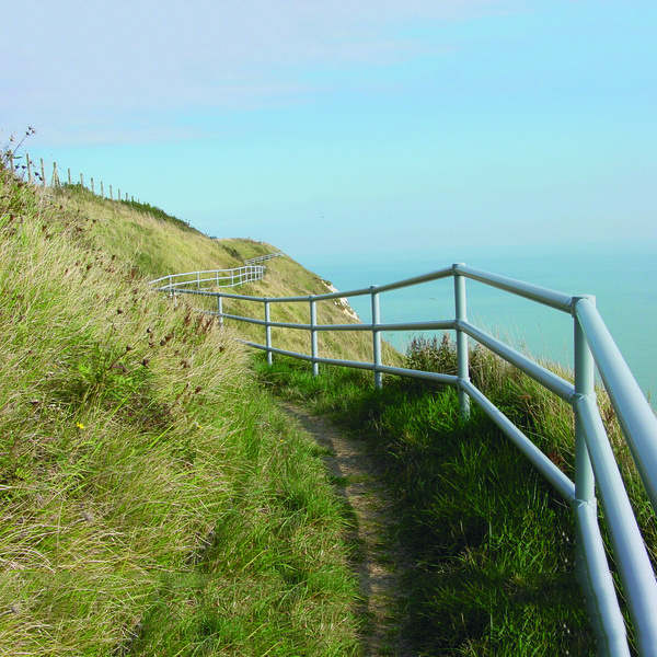 Railing Systems (Urban) - Galvanised - ideal for uneven terrains Mild Steel image