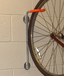 Bike Holder to hang 1 Bike vertically on a wal- AUTOPA   l.  image