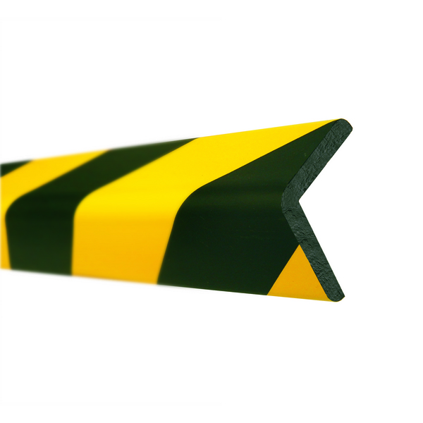 Impact Protection Foam Edge (Right Angle 60x60mm) visual warning and safety cushioning image