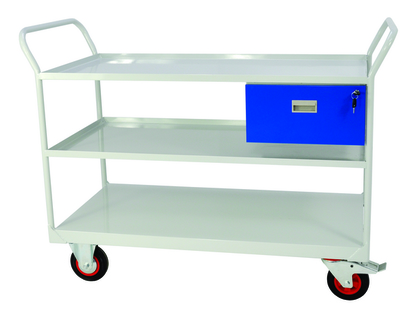 Trolleys Heavy Duty for Mobile Maintenance or assembly work.Two fixed and two swivel heavy duty castors