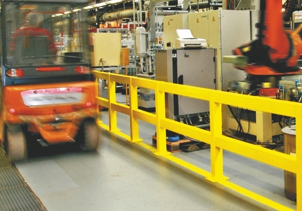 Railing System - Impact Protection Heavy Duty extremely strong, versatile and protective. Indoor use image