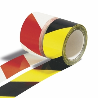 Hazard Warning Tape - long lasting and easily applied