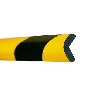 Impact Protection Foam Edge (Right Angle 30x30mm) - Provide visual warning & safety cushioning