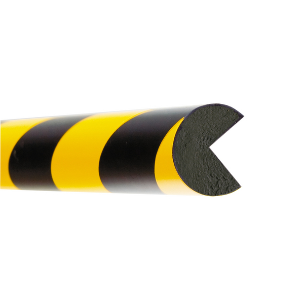 Impact Protection Foam Edge (Semi Circular 40x40mm) Visual Warning and safety cushioning image