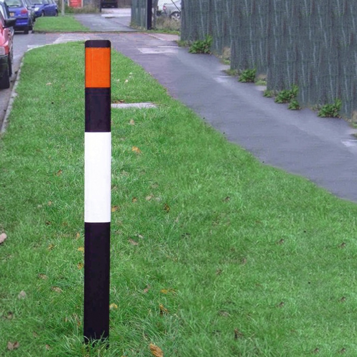 Flexible Verge Marker Posts Recycled