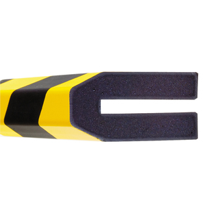 Impact Protection Foam Push-Fit (Trapeze 80mm) - Provide visual warning & safety cushioning