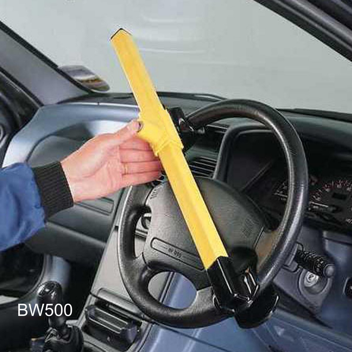 Bull bw500 steering wheel lock