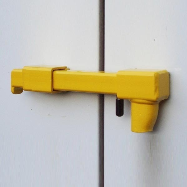 Locks for van's rear and sliding door-BULLDOG-Safe,secure,easy to operate- image