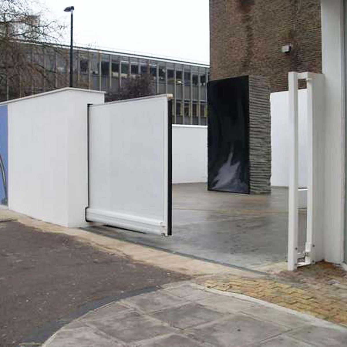 Automatic Cantilever Sliding Gate Barriers Direct