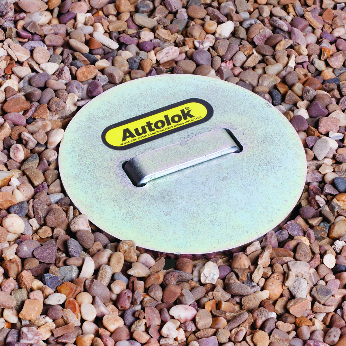 Motor Cycle Security Ground Anchor-Retractable-Extra Heavy