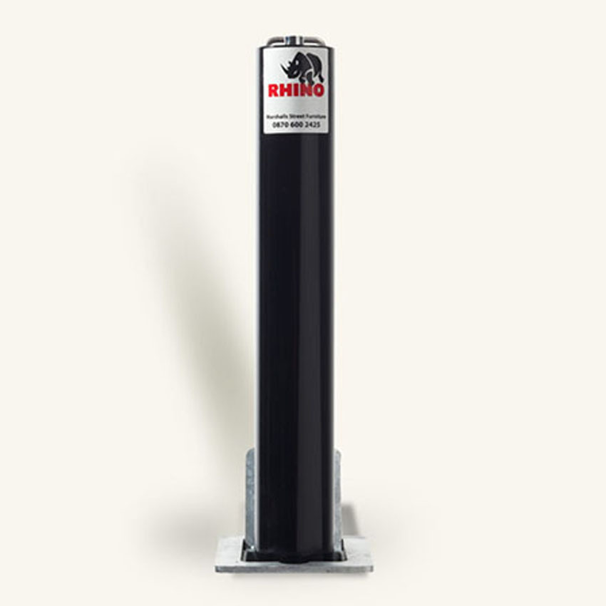 Image of Telescopic Round Heavy Duty Bollard from Rhino. Ideal for Commercial use