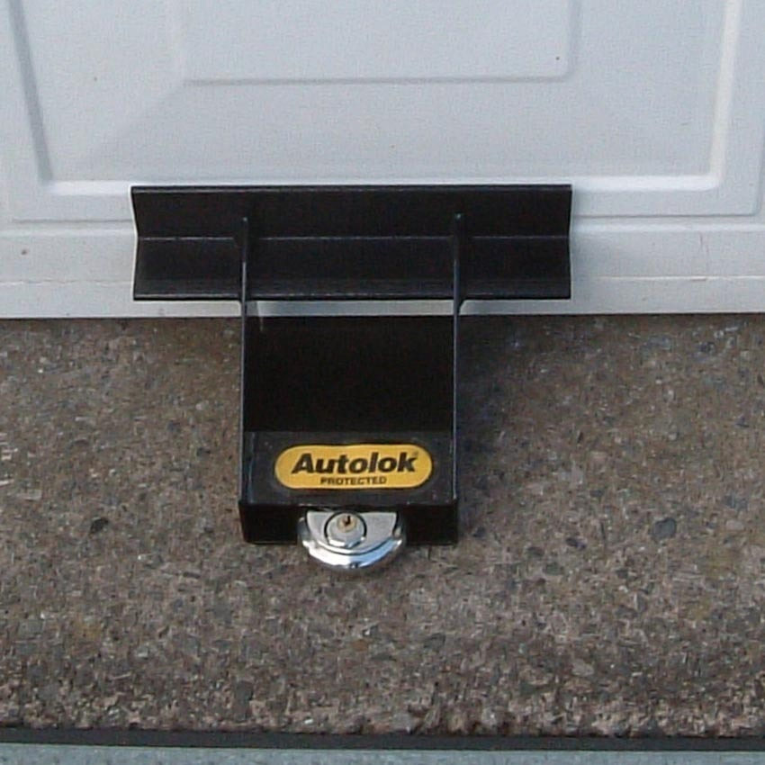 Garage Door Blocker Prevents Up And Over Doors From