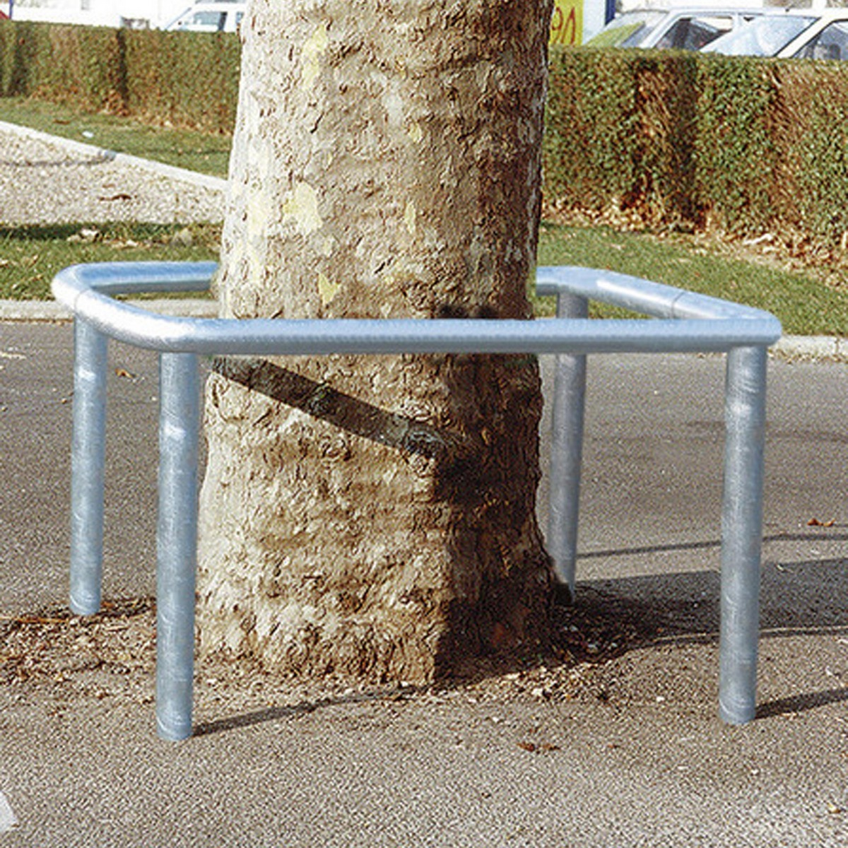 Column/Tree Protector - 10 Years Guarantee Solid Steel Construction image