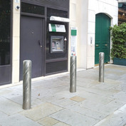 Extra large steel bollards normal