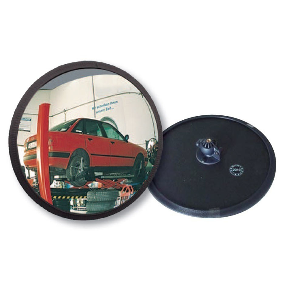 Mirrors Multi-Purpose Black Framed - ideal use for garages, driveway exits, shops -VIALUX® image