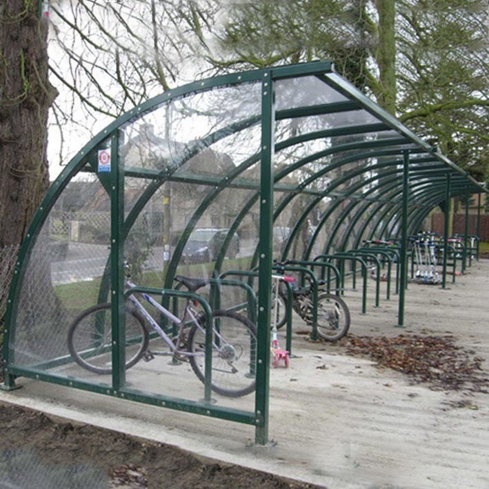 Mailbox Types Of Shelters : Cycle shelter boston modular can be made as big you