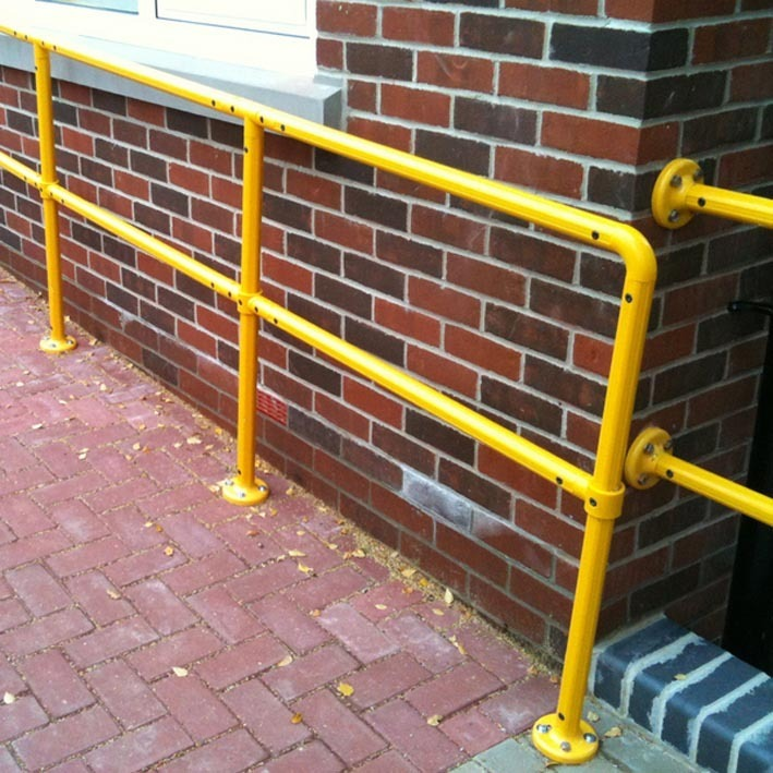 Tensabarrier Modular Steel Handrail - Safety Barrier · Barriers Direct