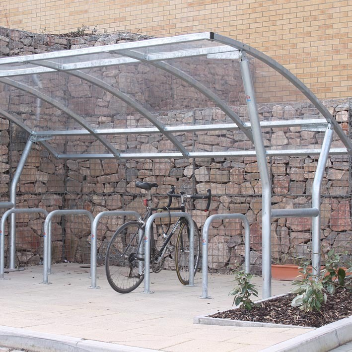 Cambourne bike shelter