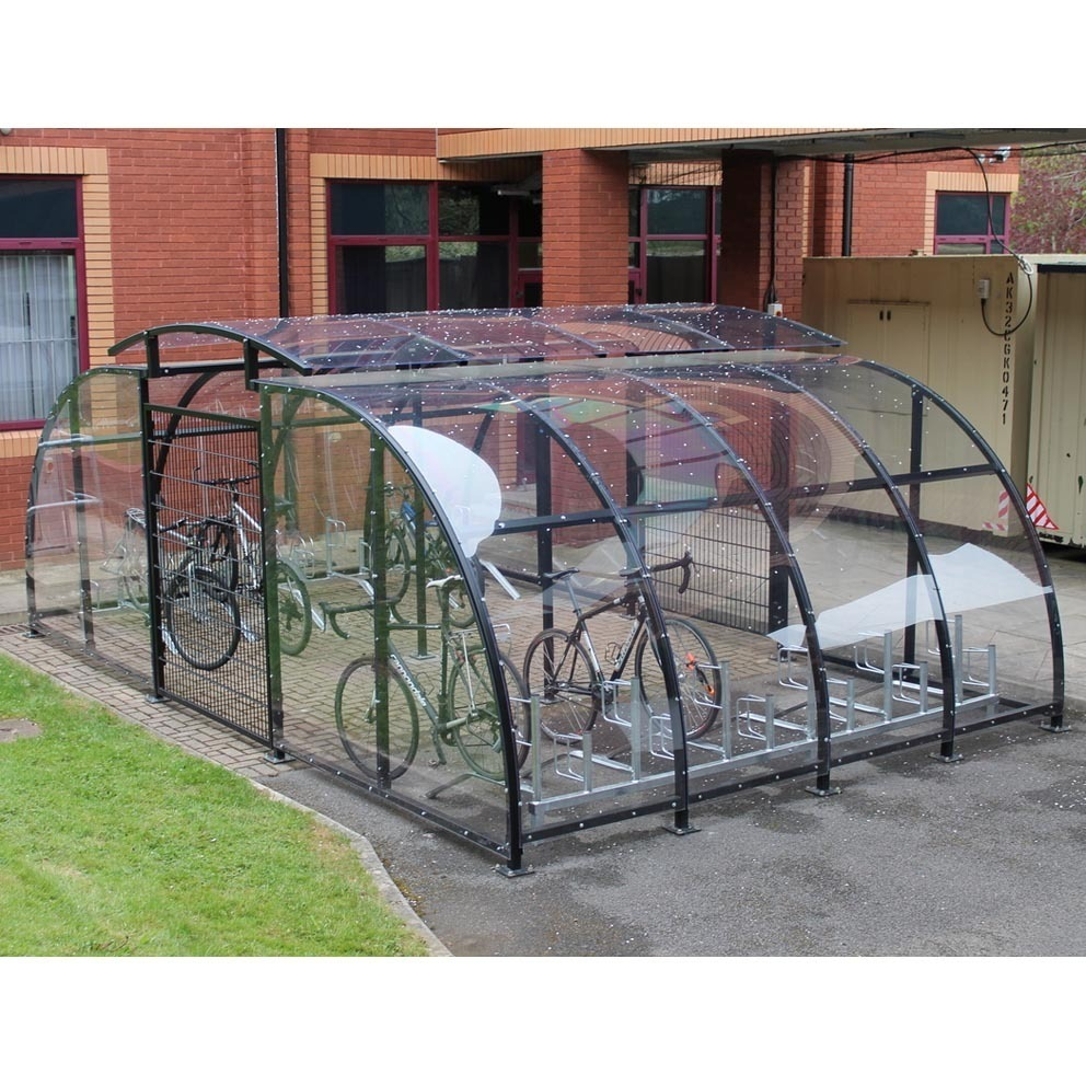Secure Bike Shelters : Stratford cycle compound m storage facility with