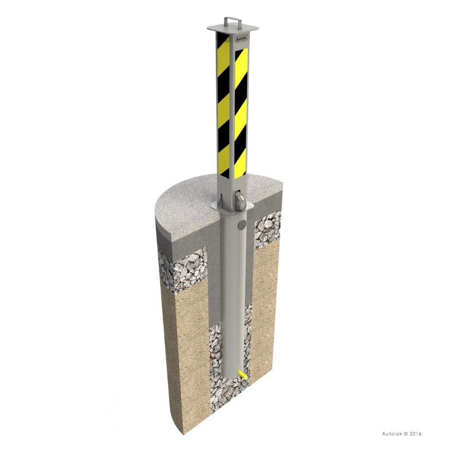 Telescopic Post Heavy Duty-Retractable-Best Seller, Hugely Reliable image