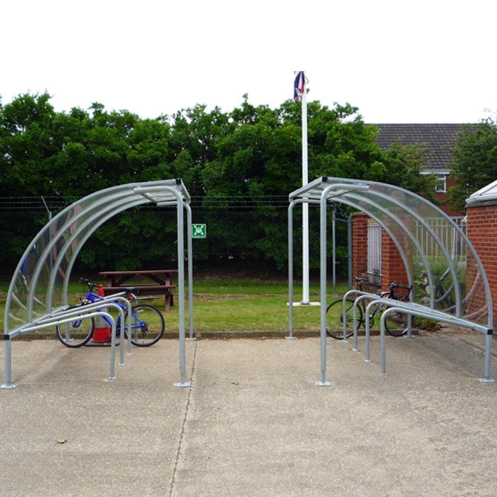 Mailbox Types Of Shelters : Vs bike shelter includes cycle stands easy to install