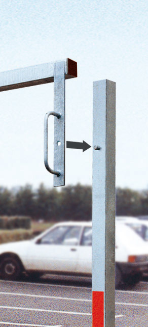 Height Restrictor Barrier - Swivel Mechinism - Easy to install image