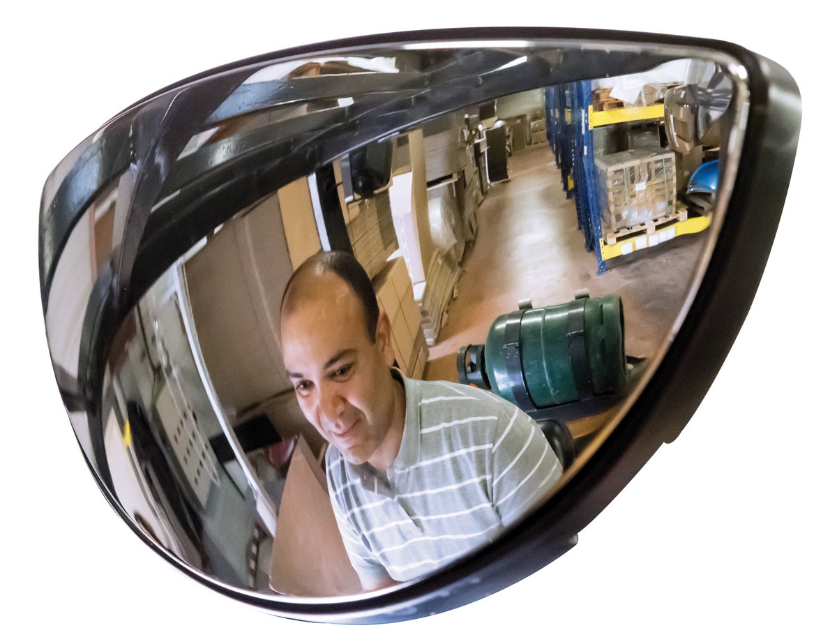 Fork Lift Mirrors - aid by reducing the amount of blind spots - Best Seller image
