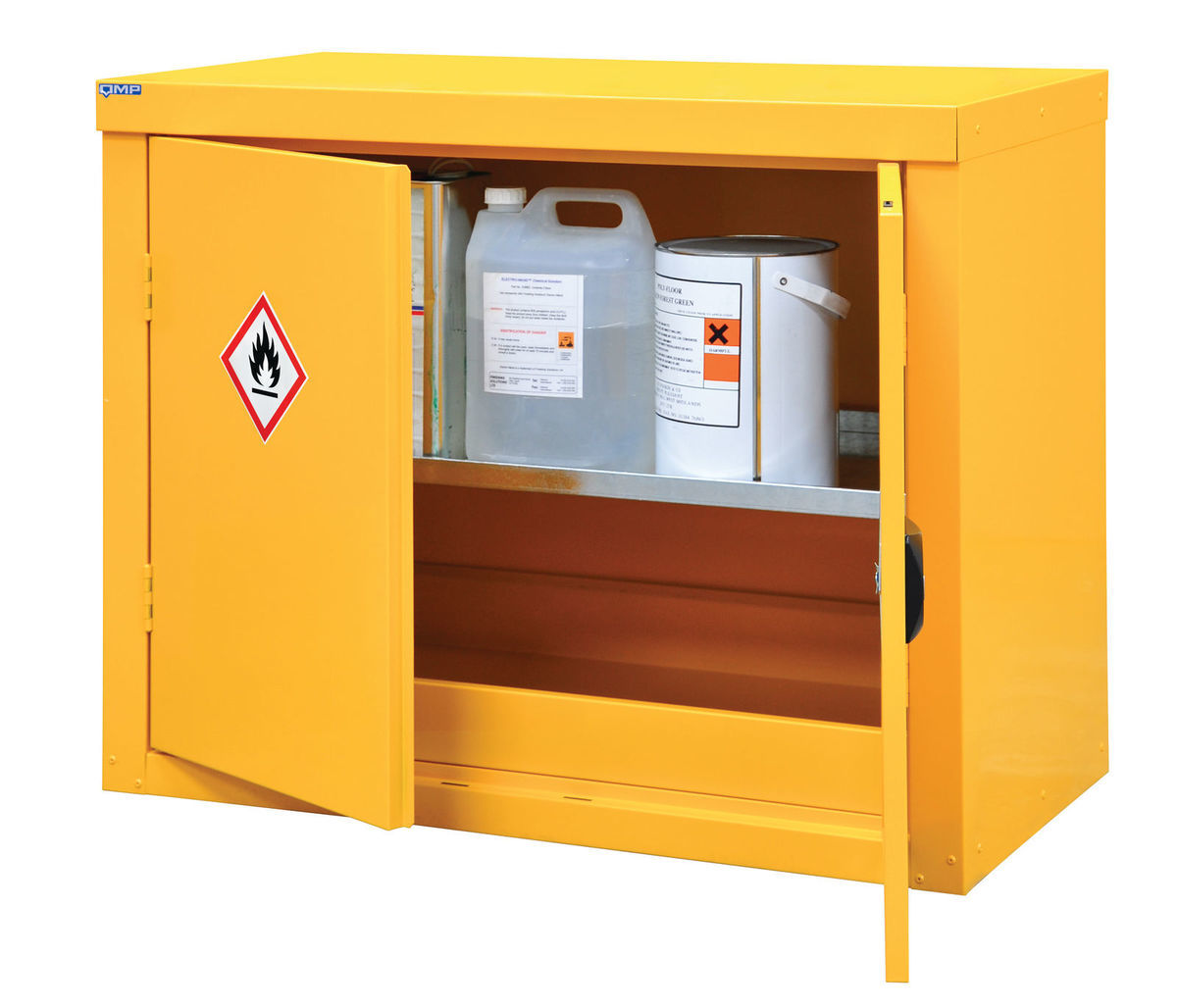 Hazardous Substance Storage Yellow Coshh 183 Barriers Direct