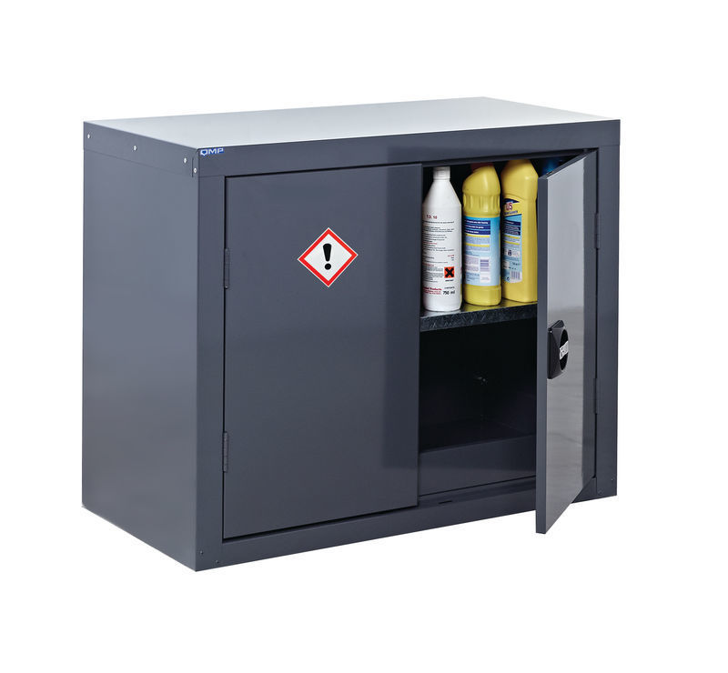 cabinet tracks cupboards for hazardous substances comply with coshh 13066