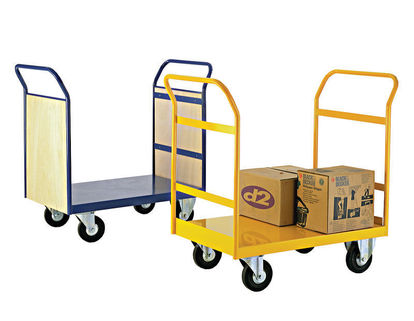 Platform Trucks-Heavy duty with 2 fixed and 2 swivel heavy duty castors