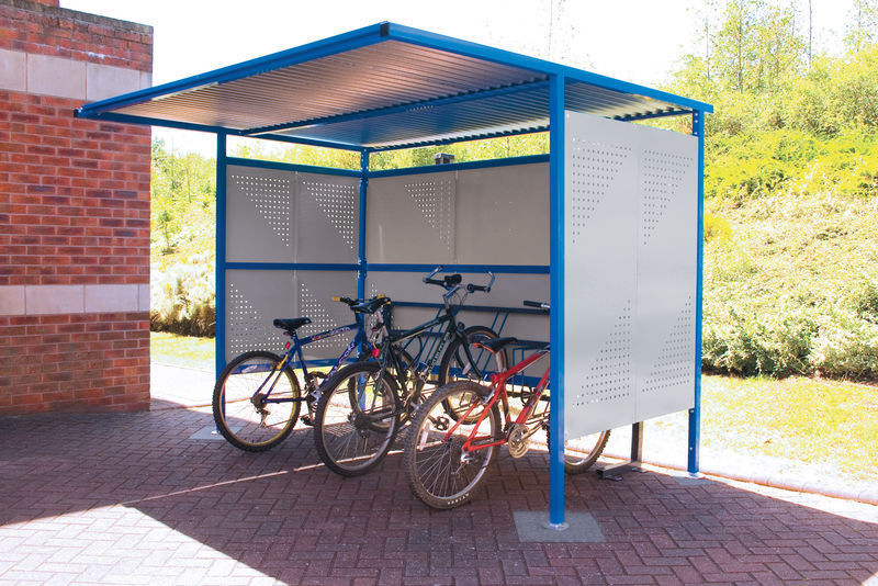 Bike Shelter - Galvanised against rust image