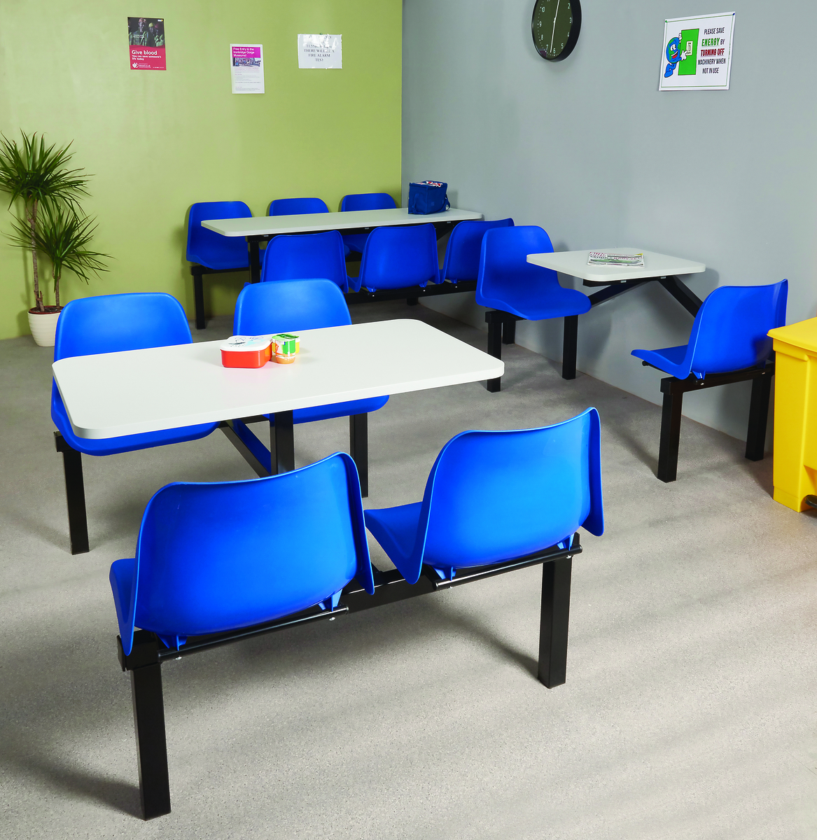 Standard canteen furniture  group shot