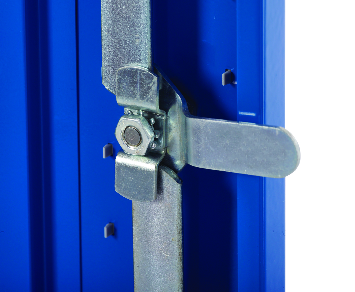 Secure Lockers With 3 Point Locking Mechanism For Extra