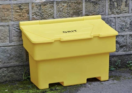200 Litre Plastic Grit Bin ideal for Roadsides
