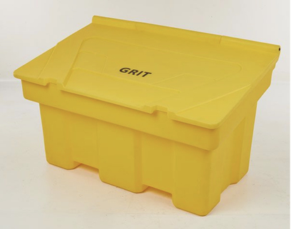 350 Litre Plastic Grit Bin Great for Car Parks