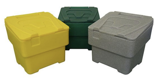 60 Litre Plastic Grit Bin For Home or Office use