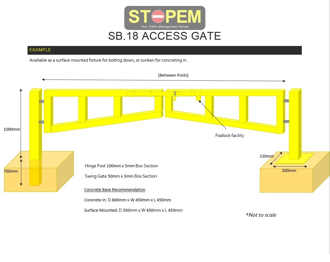 Manual Swing Gate (3-9m) Heavy Duty  image