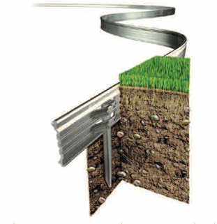 Lawn Edging in Aluminium RITE EDGE (Pack of 14)