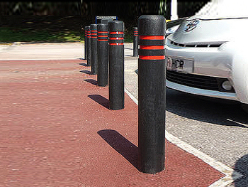 Plastic bollards traffic cones v2