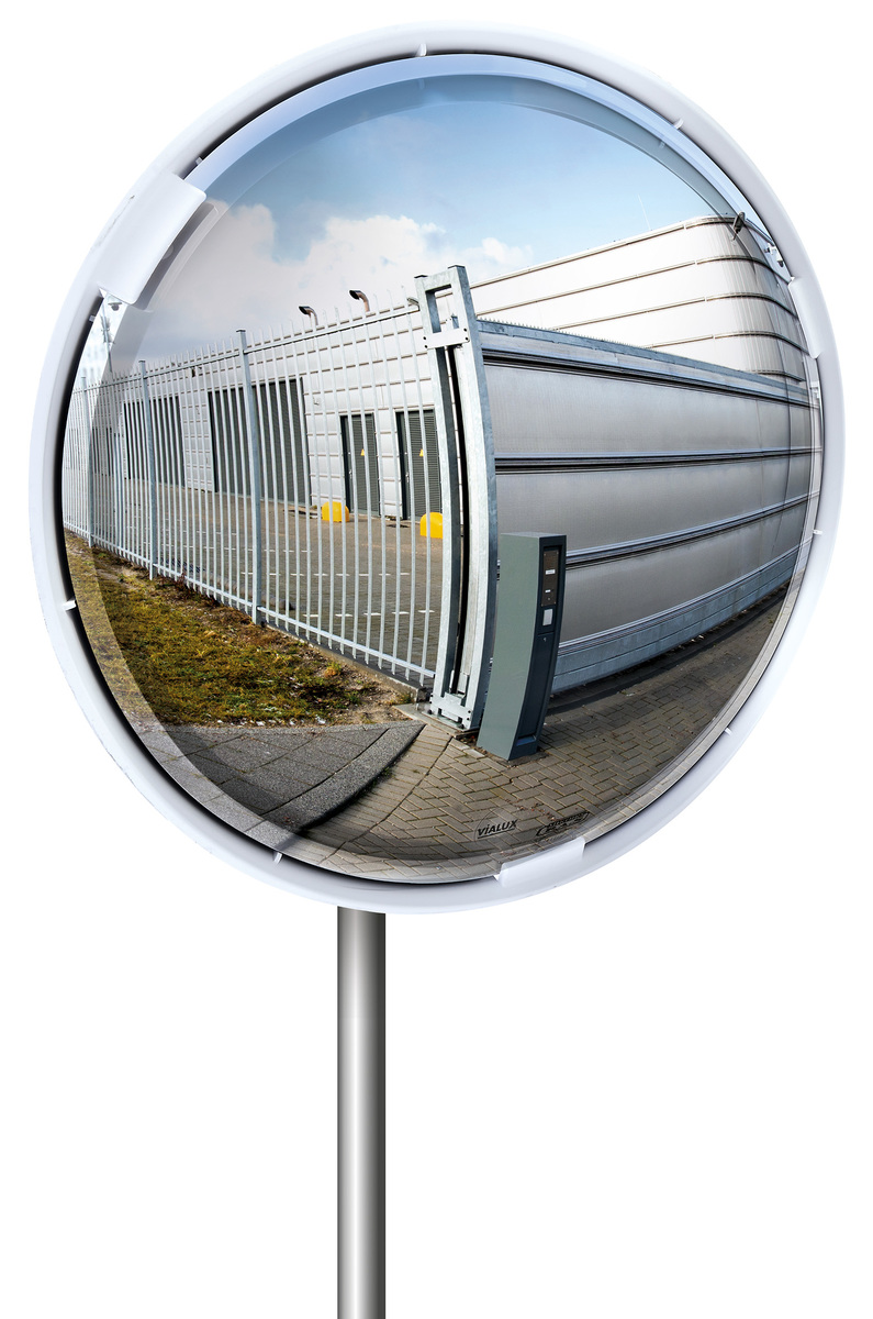 Mirror 3 Way Blind Spot Classic multi-purpose and Junction Mirrors - Anti-Scratch - VIALUX image