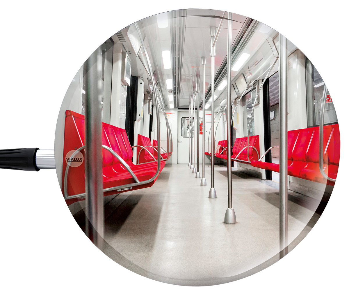 Inspection Mirrors Portable Look Easily Under Or Over