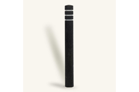 Bollard Recycled Plastic Round from Marshalls. Low Maintainence and Great for Commercial use.