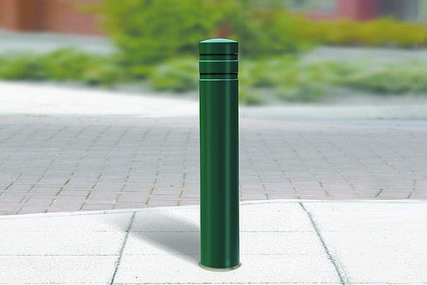 Bollard Steel (114-168mm DIA) 1000mm above ground. Ideal for ram raid deterrence. Marshalls
