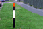 Verge Marker Flexible Posts (Recycled) - Effective at highlighting road edges, bends etc. image